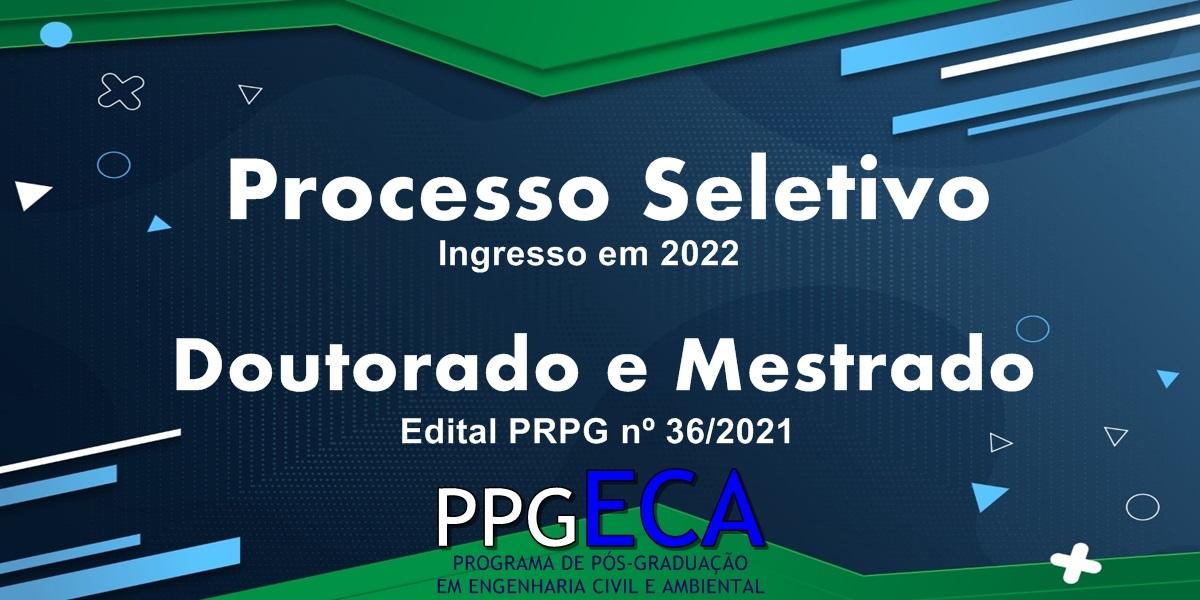 Edital do Processo Seletivo 2022 é divulgado
